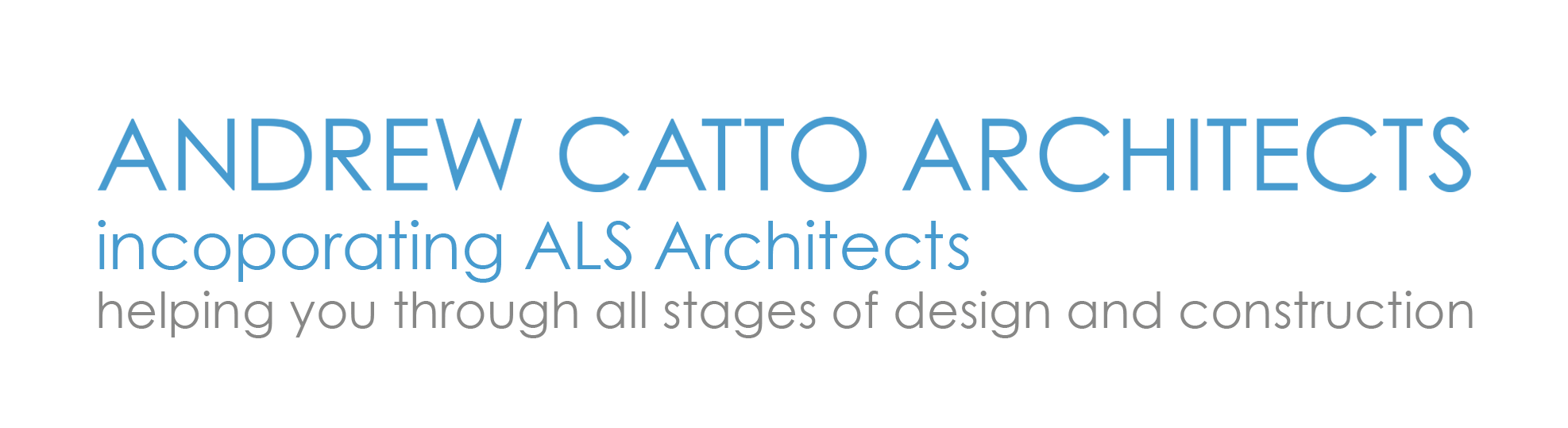 Free Initial Consultation at Andrew Catto Architects