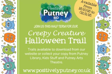 Positively Putney's 'Creepy Creature Halloween Trail'