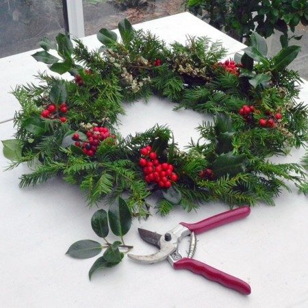 Christmas Wreath Making at The Boathouse