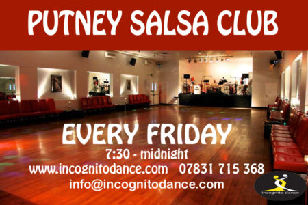 Putney Salsa & Bachata Club's  monthly party