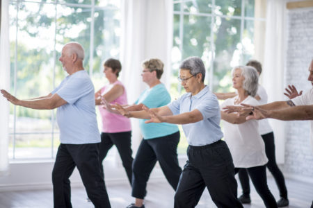 Tai Chi at The Putney Clinic