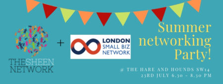 Summer Networking Party with London Small Biz Network & The Sheen Network