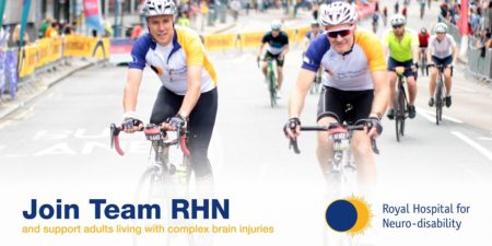 Complete RideLondon for the Royal Hospital for Neuro-disability
