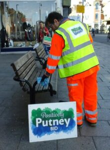 Street cleaning in Putney